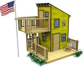 deluxe loft clubhouse plan play houses shed roof build on landscaping ideas that will transform your yard a few points to consider before you start id=12226