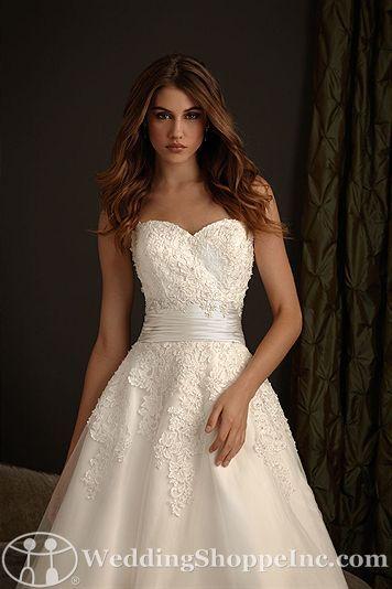Bridal Gowns Allure Romance 2416 Bridal Gown Image 3