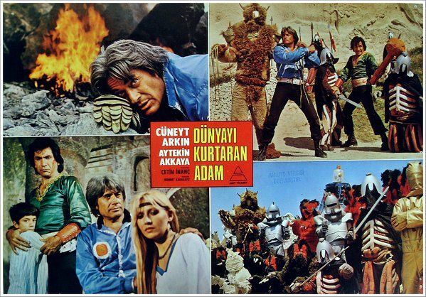 Dünyayi Kurtaran Adam, the Turkish Star Wars (1982)