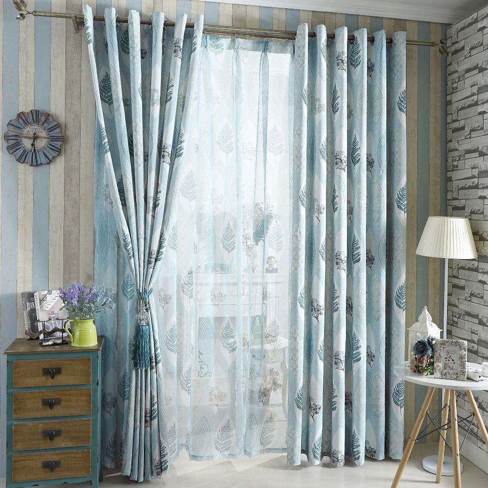 aliexpresscom  buy american country style tree design drape  - aliexpresscom  buy american country style tree design drape modern curtainfashion curtain from