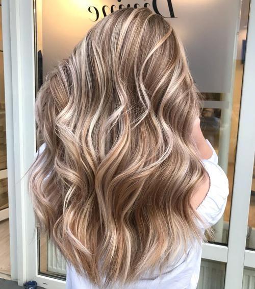 Hellbraune Haare mit Hellen Strähnen | Cabelo castanho