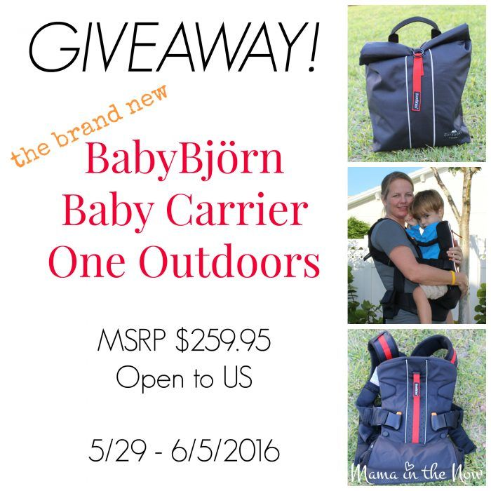 #Giveaway! @babybjornus Carrier One #Outdoors fm @mamainthenow