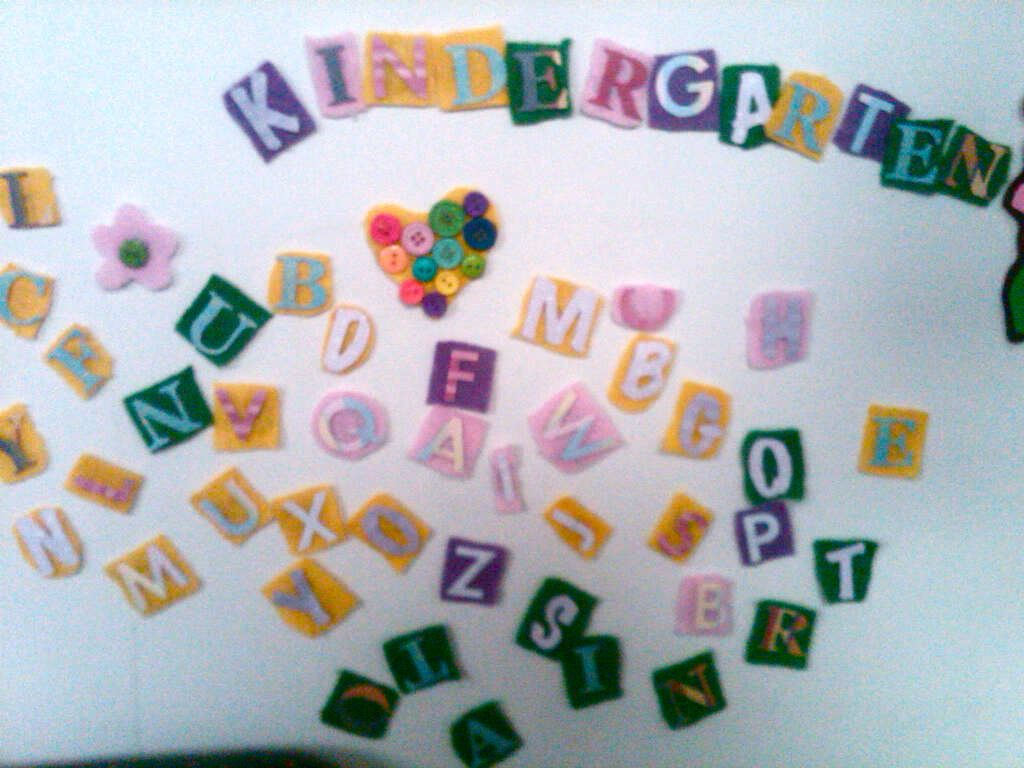 Magnetic Felt Alphabet
