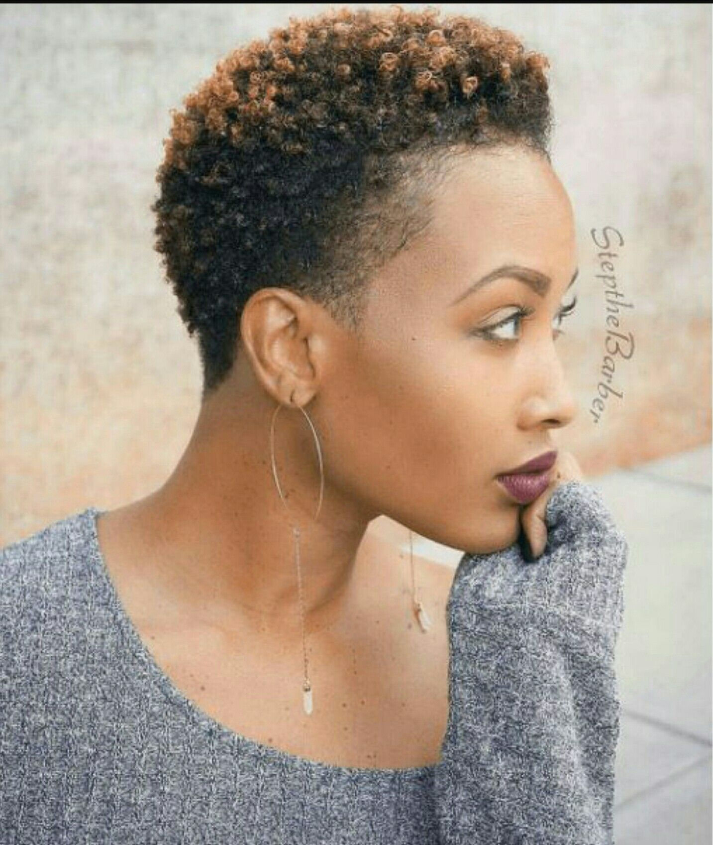 Pin By Aiesha On Hair Ideas Short Natural Hair Styles Short Natural Haircuts Natural Hair Styles