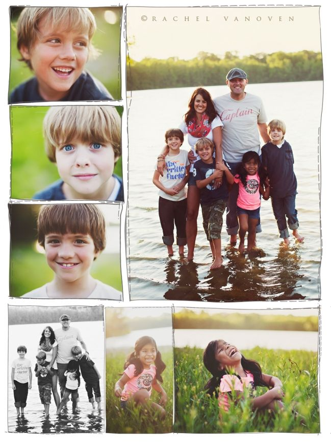 Family family photo shoot to date <3