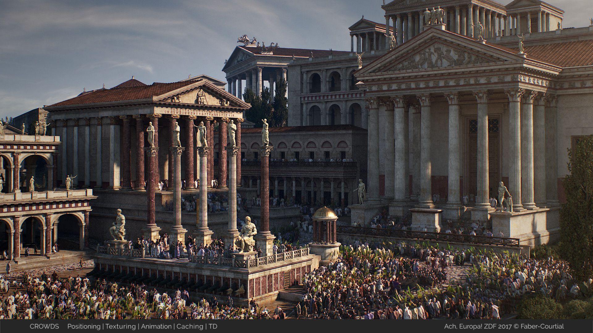 город римской империи картинка