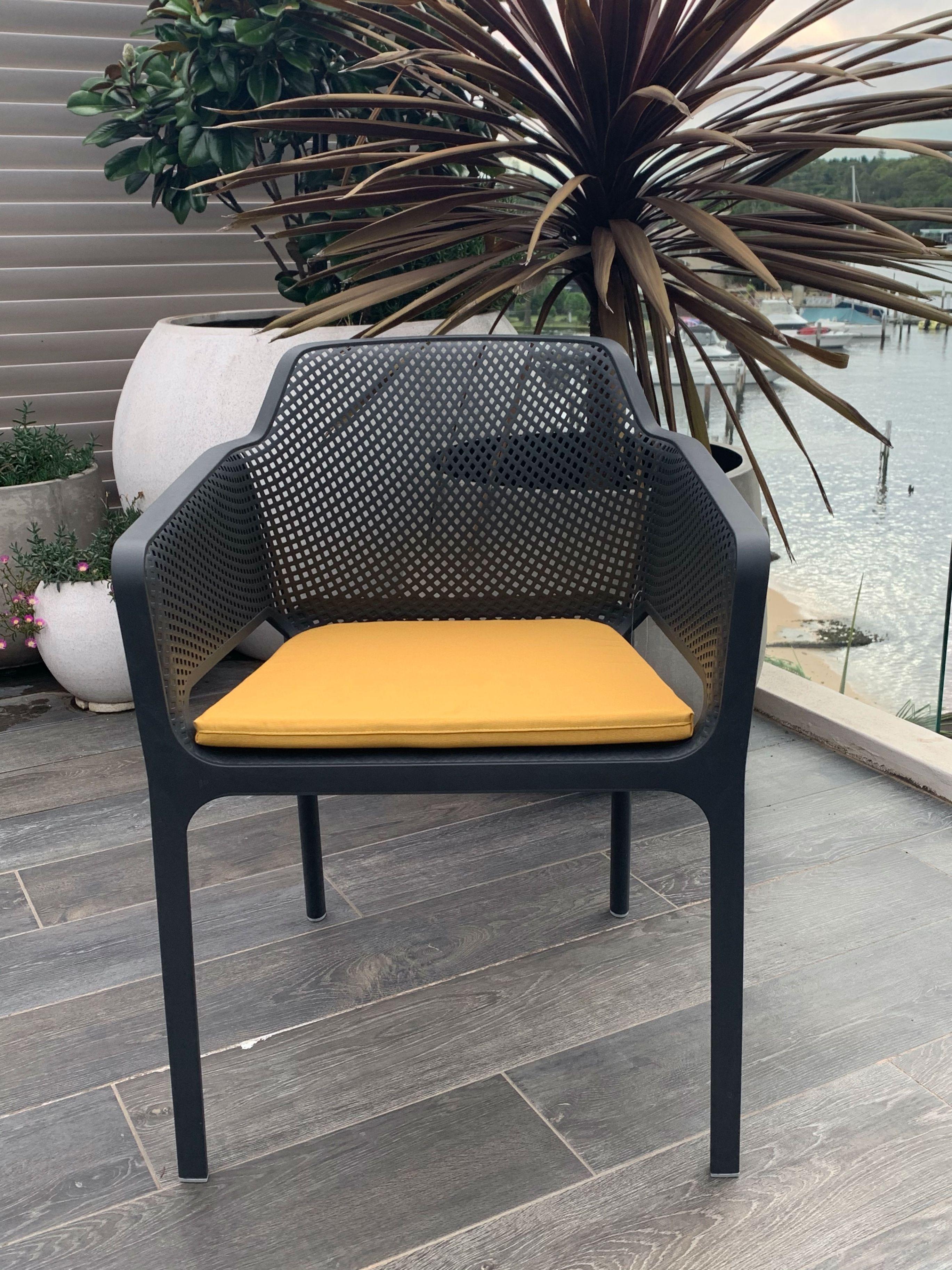 Nardi Net Chair In 2020 Chair Yellow Cushions Outdoor Furniture