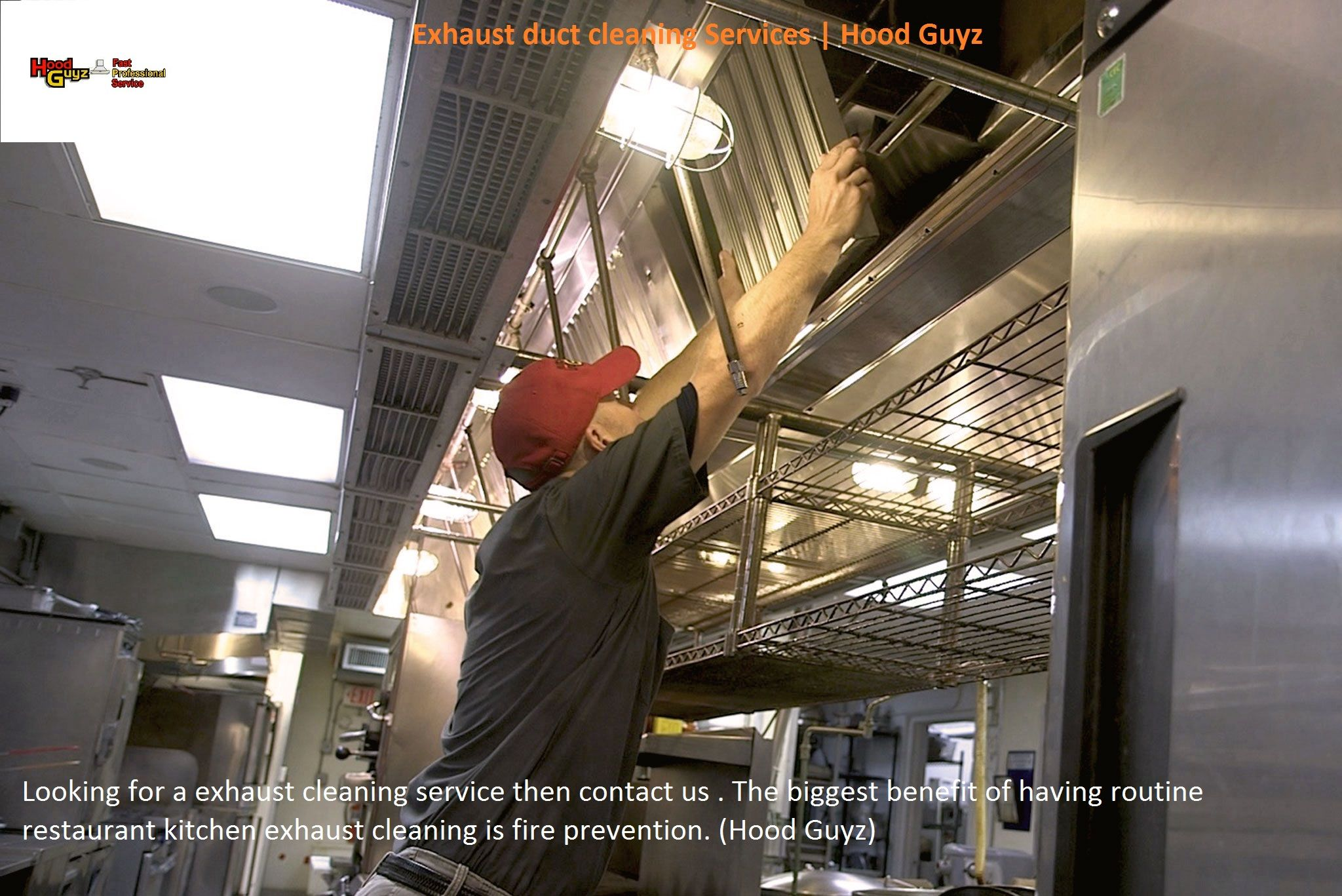 Looking For Exhaust Fan Cleaning Services Then Contact Us