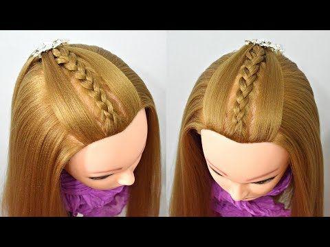 peinados para nia faciles y rapidos coletas con trenzas youtube - Peinados Rapidos Y Faciles