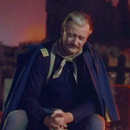 Image result for john wayne as nathan brittles
