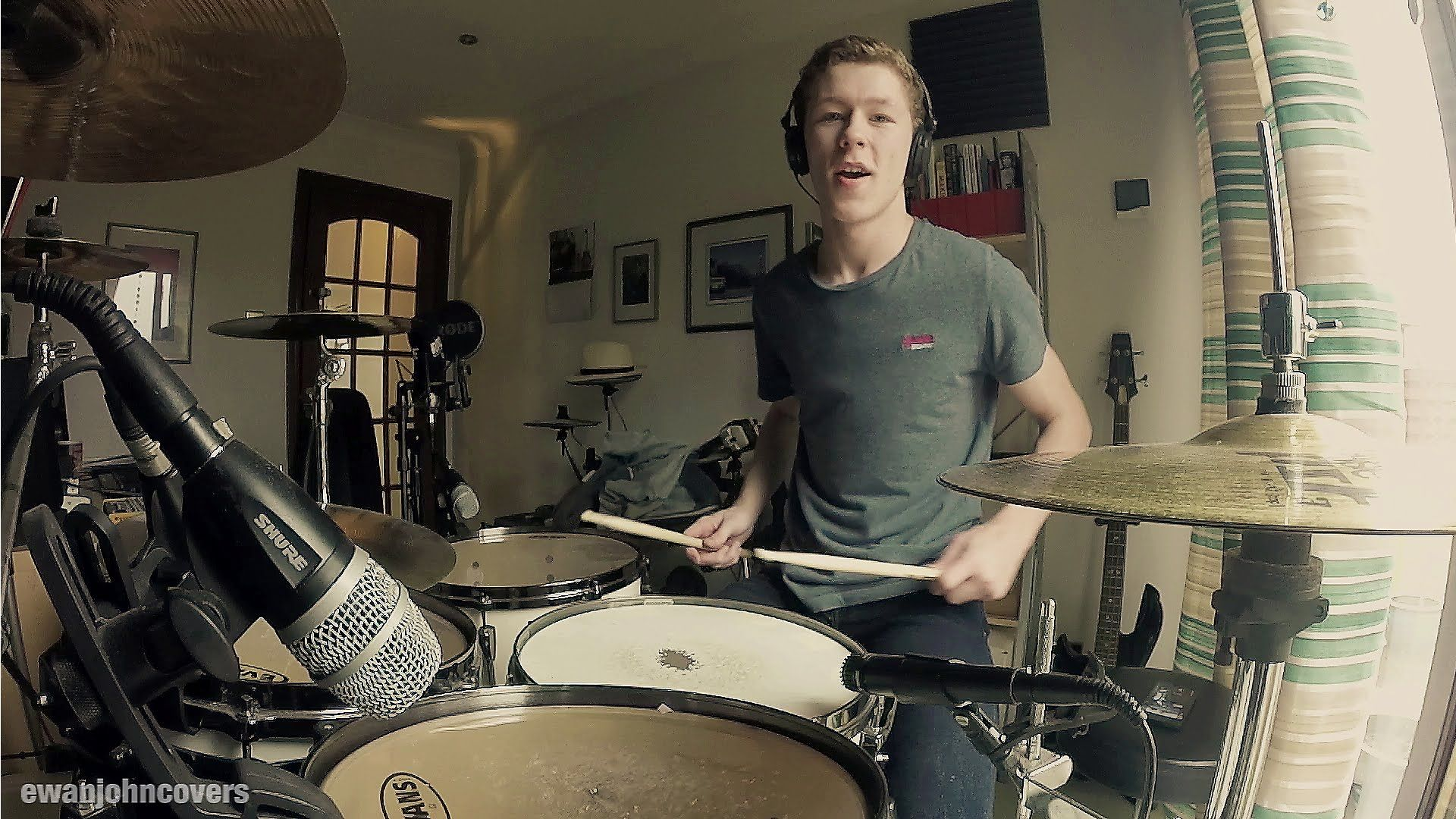 Dire Straits - Sultans of Swing (Alchemy) - Drum Cover