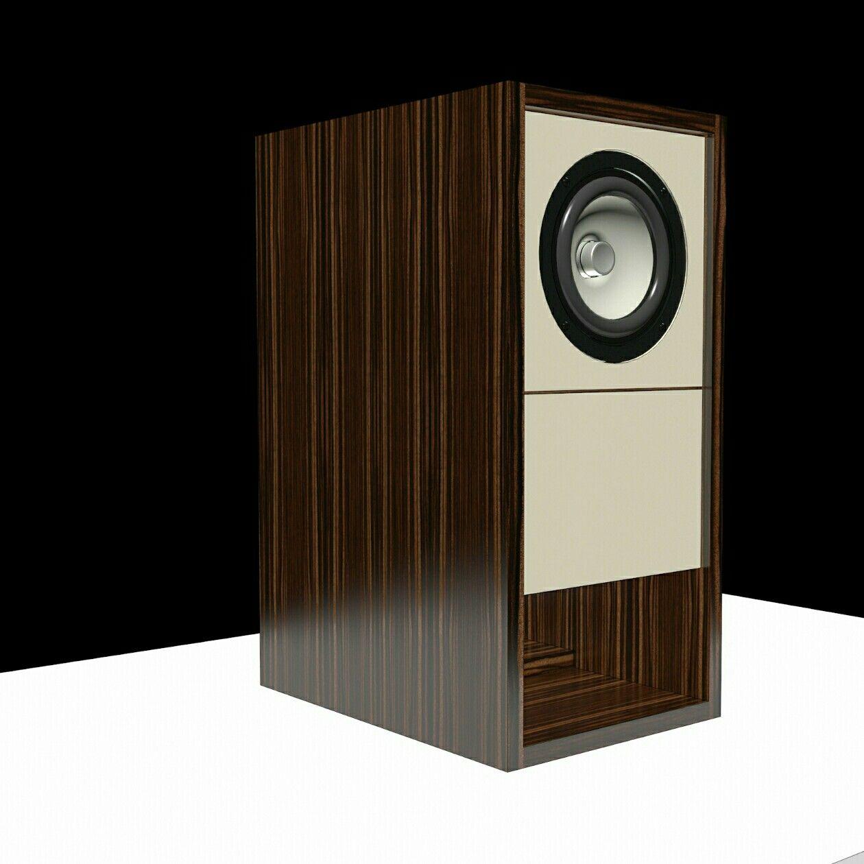 hybrid blh bass reflex tang band w5 2143 diy speaker