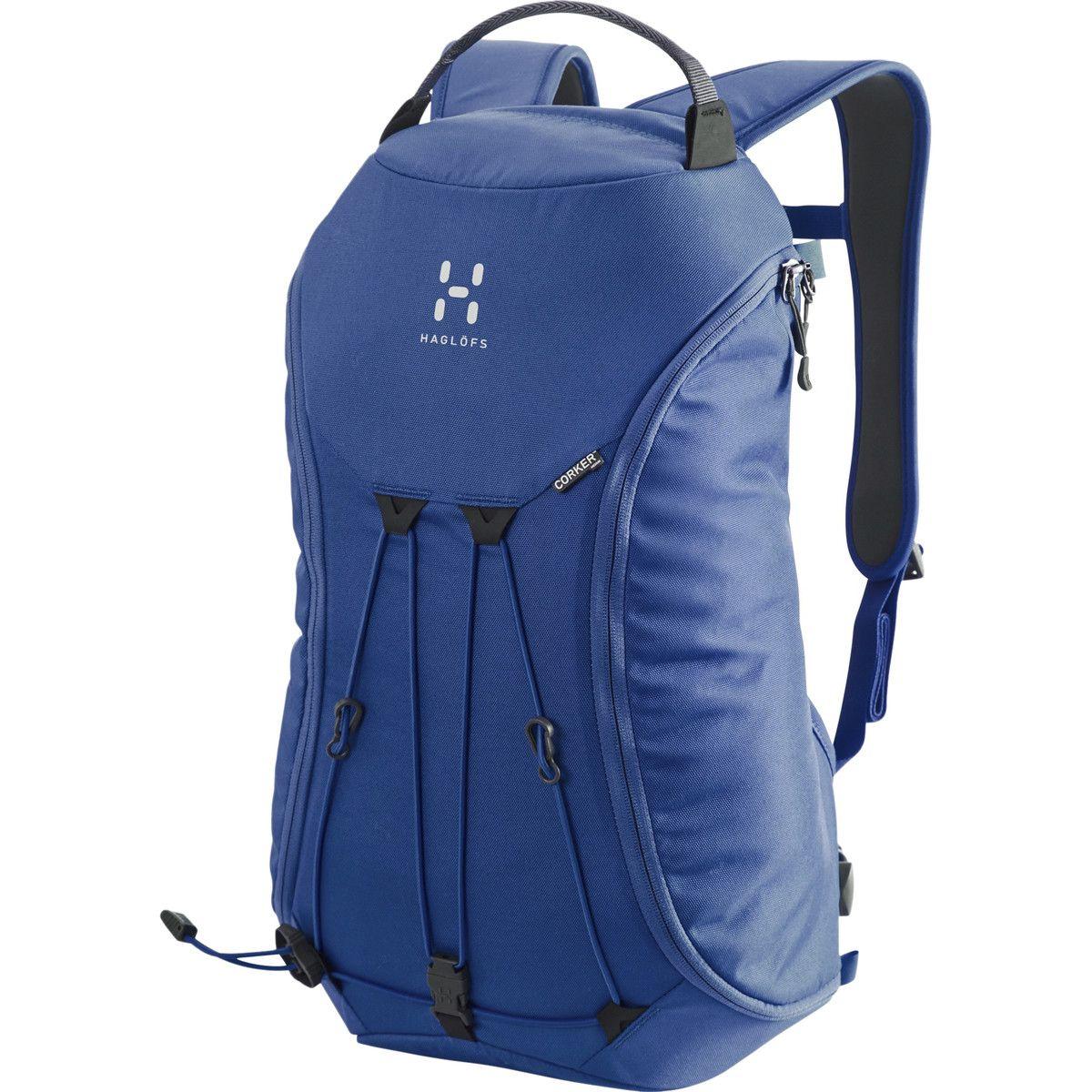 Hagl Corker Medium Backpack 1098cu In Hurricane Blue One Size Medium Backpack Backpacks Rucksack Backpack