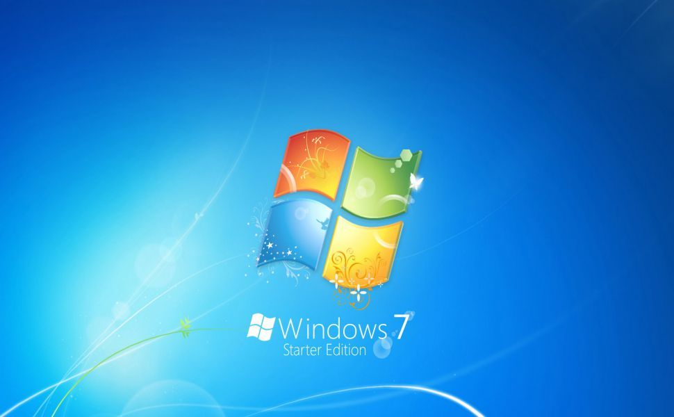 Windows 7 Starter Hd Wallpaper Windows Desktop Wallpaper Windows Wallpaper New Wallpaper Hd