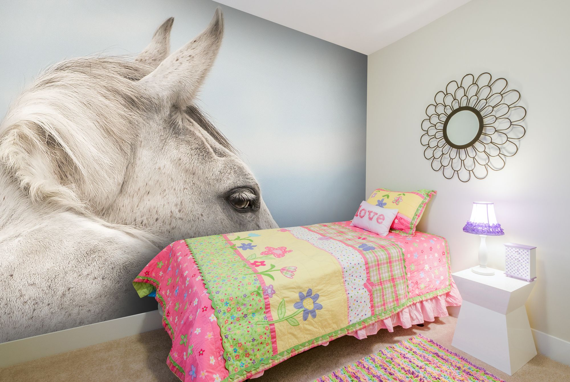 Best Dreamer In 2020 Horse Themed Bedrooms Horse Wallpaper 400 x 300