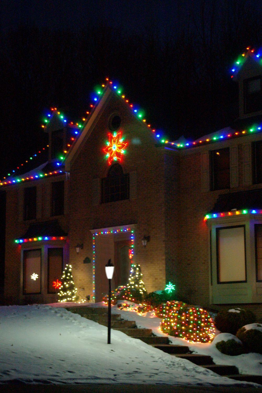 Bright White Led Christmas Tree Lights Bestwhiteledchristmaslightsreviews Chr Large Outdoor Christmas Decorations Led Christmas Lights White Christmas Lights