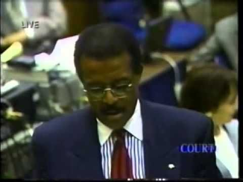 Closing Arguments Of OJ Simpson Murder Trial Part   On