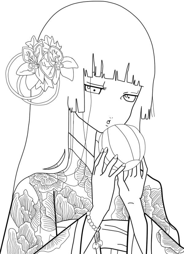 enma ai kimono - Google Search | Jigoku Shoujo | Pinterest | Chidas ...