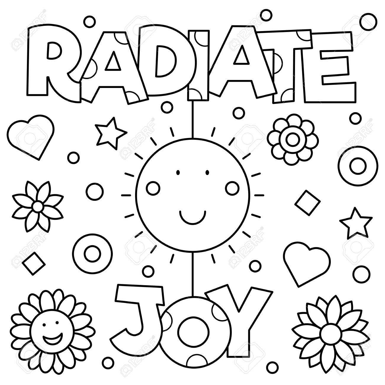 44+ Choose joy coloring page ideas
