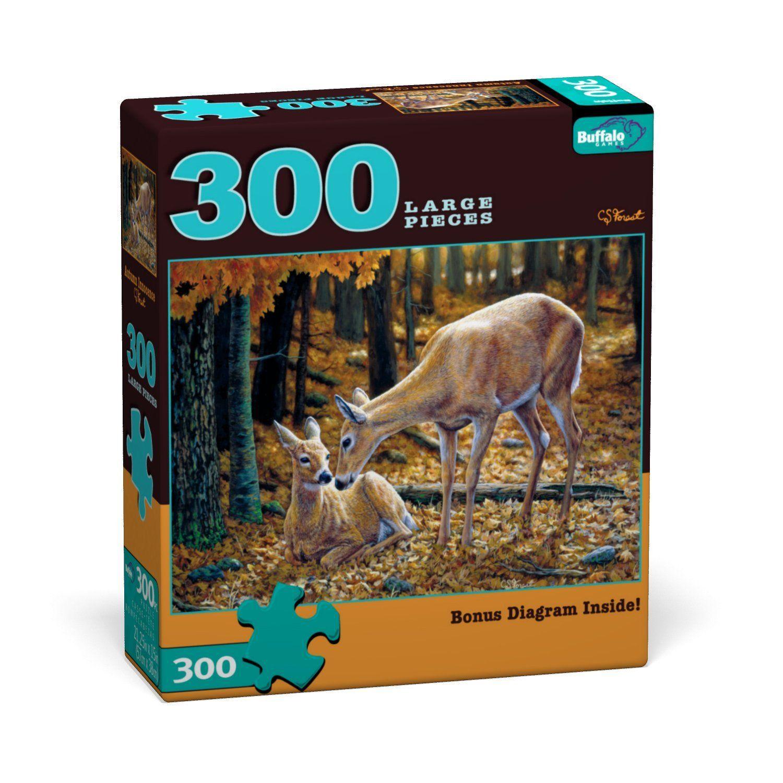 Amazon Buffalo Games Large Piece Wildlife Autumn