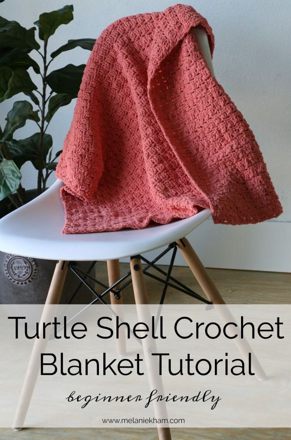 Turtle Shell Crochet Blanket Beginner Friendly Crochet