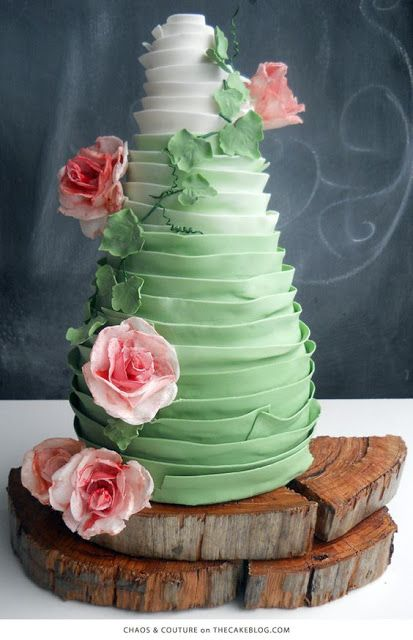 Endless Madhouse!: Impressive Ombre Cakes!