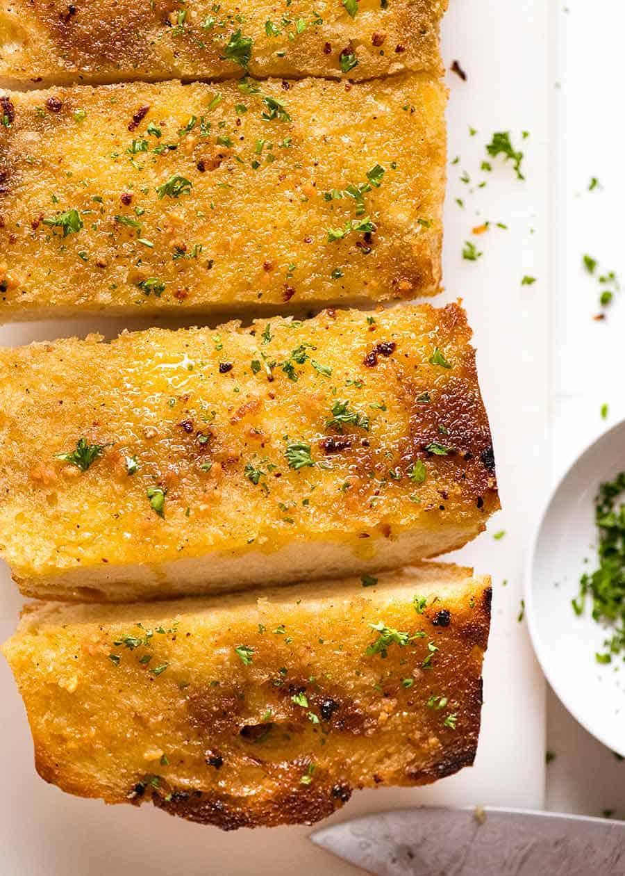 Grilled Garlic Bread Recipe Garlic Bread Recipes Recipetin Eats