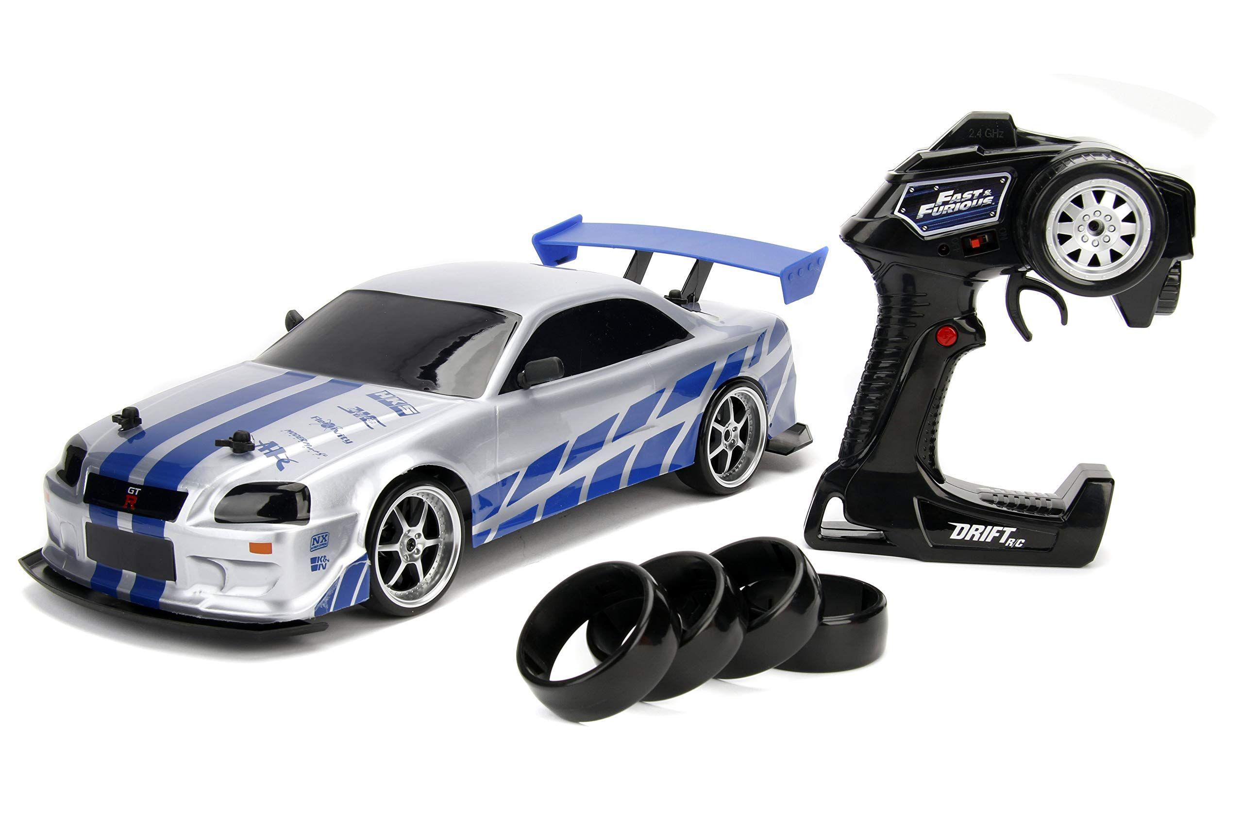 Jada 99701 Toys Fast And Furious Brian S Nissan Skyline Gt R Bn34 Drift Power Slide Rc Radio Remote Contr In 2020 Nissan Gtr Skyline Nissan Skyline Nissan Skyline Gt