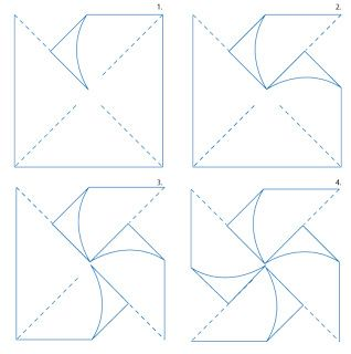 Pinwheel Template Buy Double Sided Paper When Hobby Lobby Michaels And Joanns Has A Sale Pinwheels Paper Pinwheels Paper Windmill