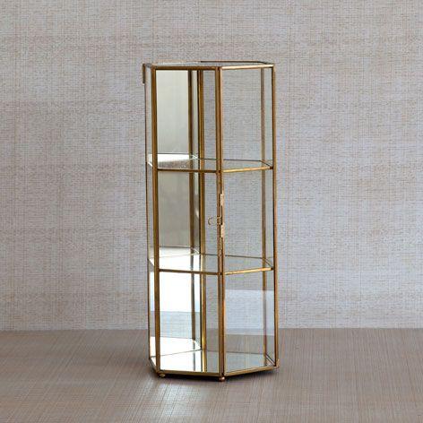 DECORATIVE GLASS DISPLAY CASE   Decoration Accessories   Decoration | Zara  Home Turkey