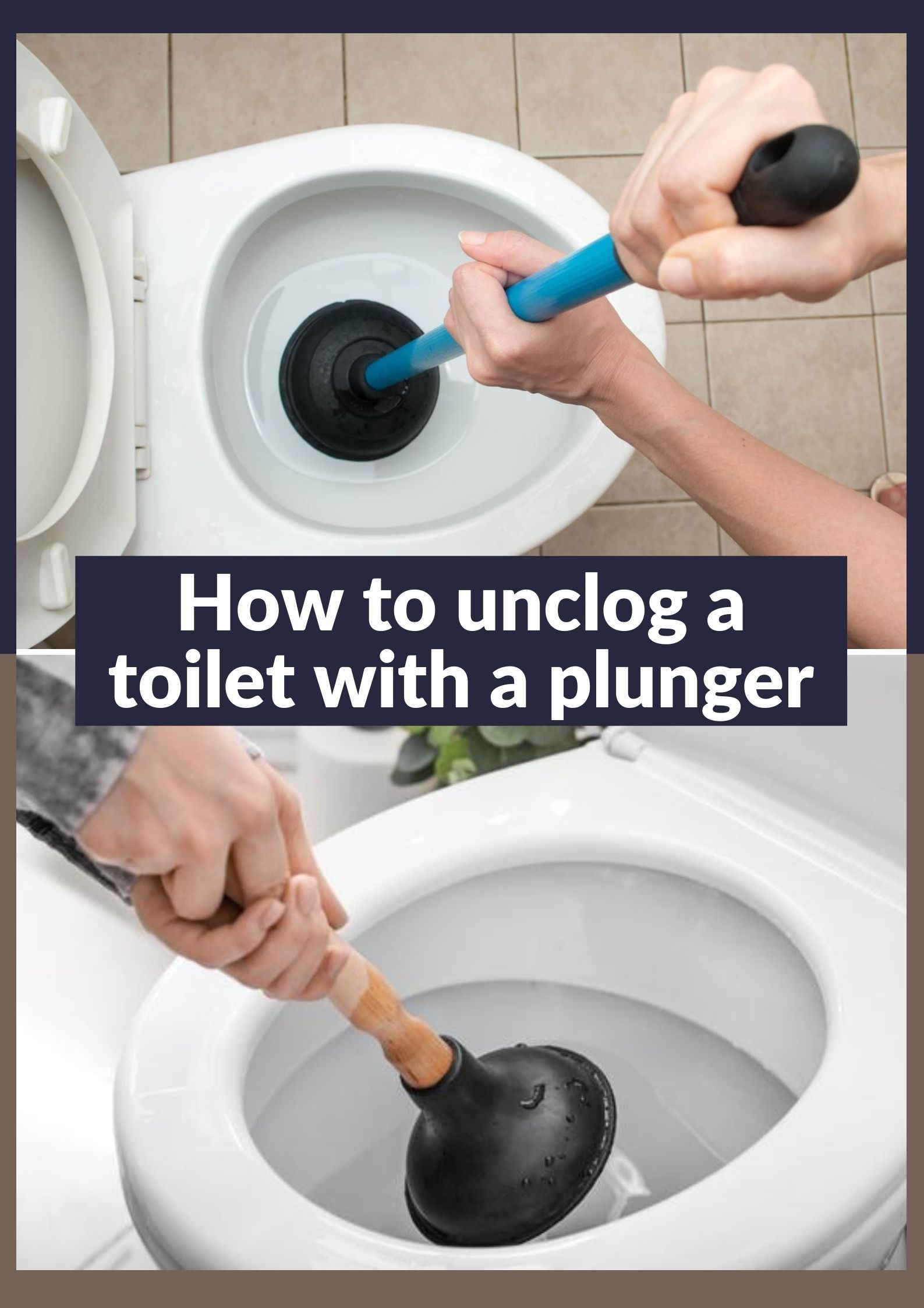 How To Unclog A Toilet With A Plunger An Easy Effective Tricks In 2020 Toilet Cleaning Hacks How To Unclog Toilet Unclog