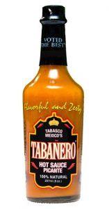 Free Bottle of Tabanero Hot Sauce