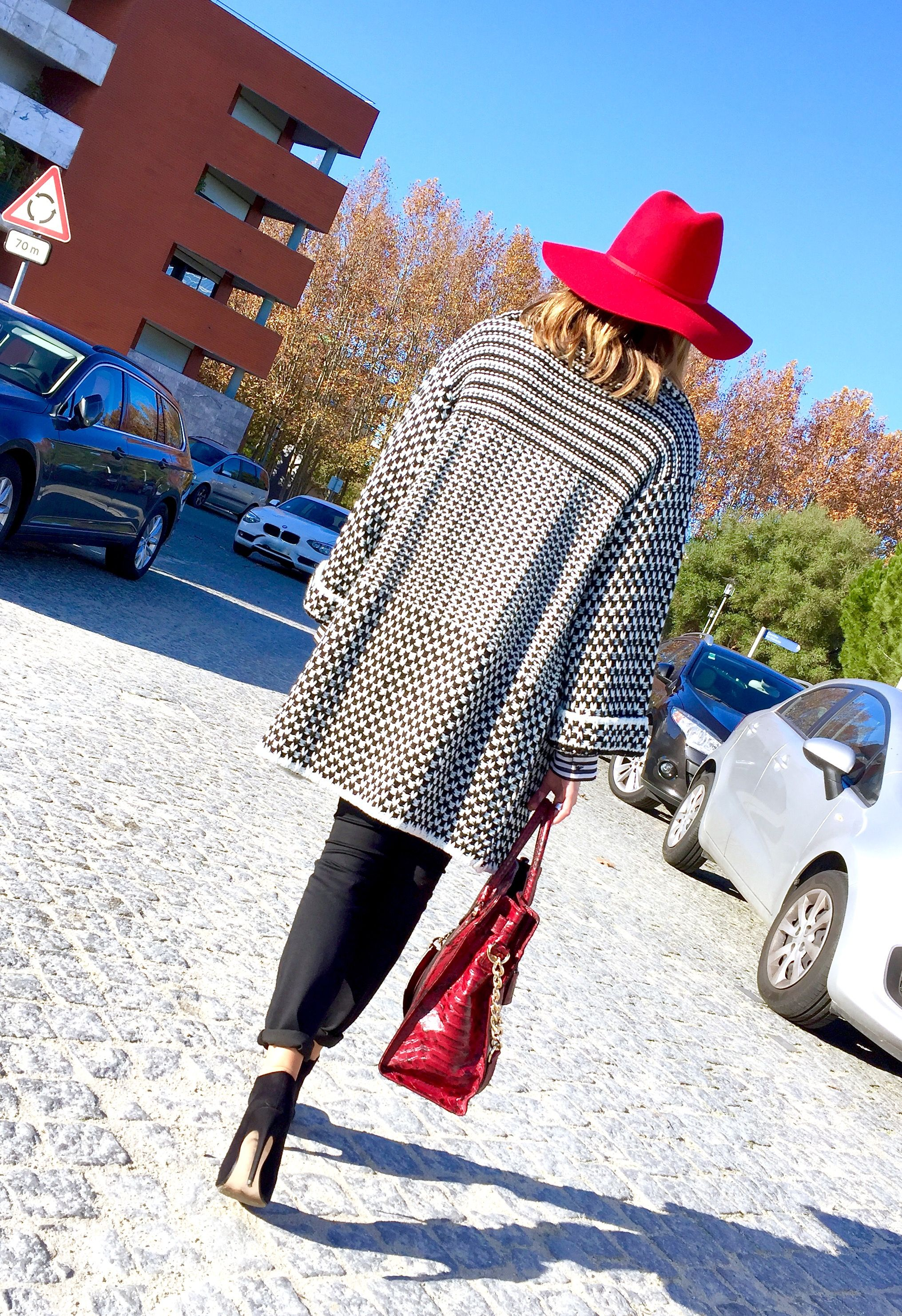 """Who's afraid of the big bad wolf""  ?! ;)   #StylistTips #FREEtips #NewPost #BlogPost #East69thand1Style #RedRidingHood"
