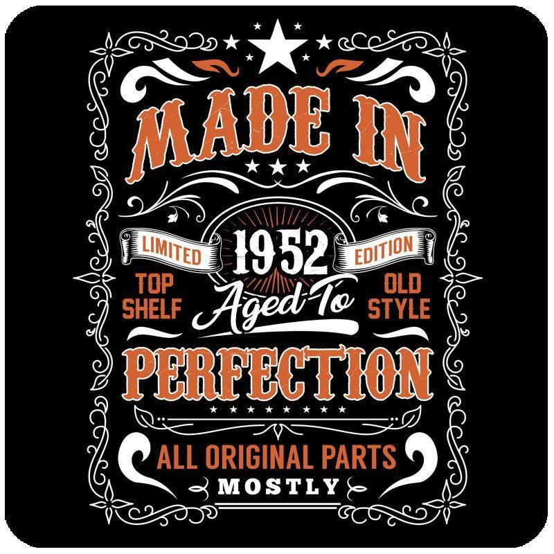 65th birthday gift born 1952 65 years old shirt 65th