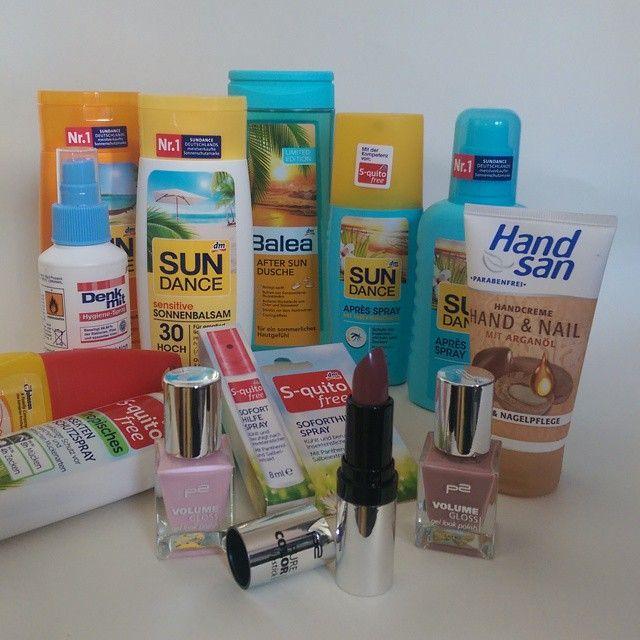 Kleiner Einkauf bei dm - bald geht es in den Urlaub ✈   #dm #balea #p2 #haul #urlaub #blogger