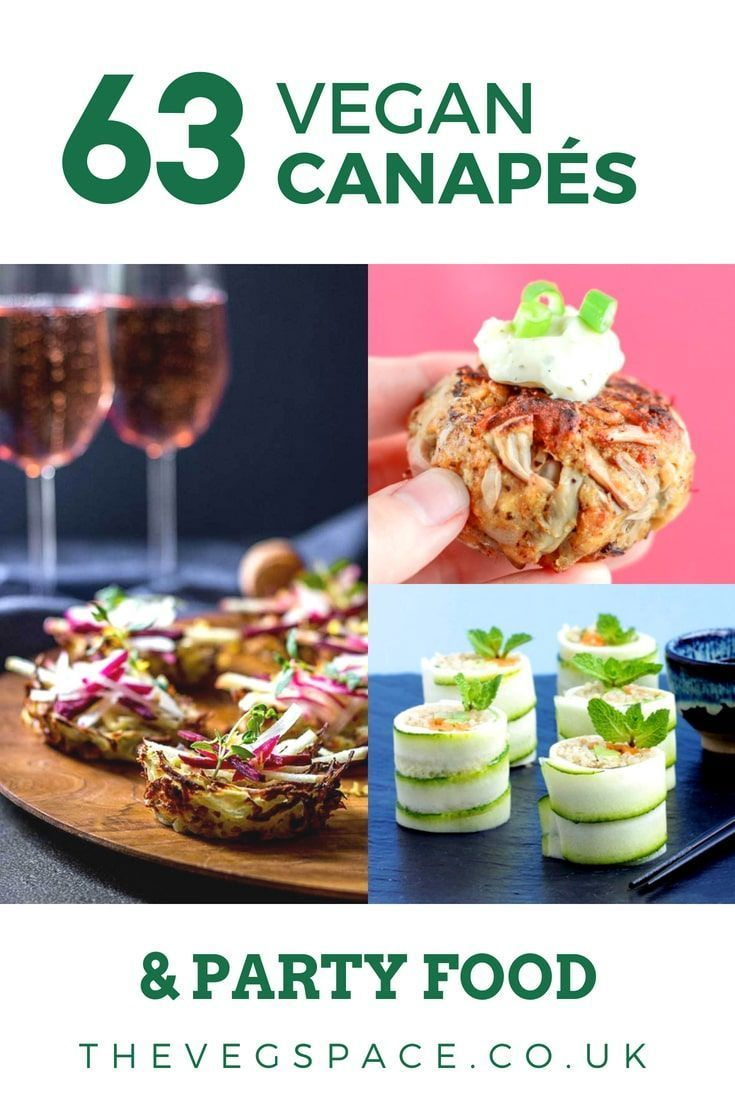 63 Recipes For Vegan Canapes And Party Food You Need To Know