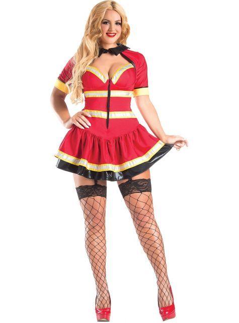 a1ca5e411d8037 Adult Fireman Body Shaper Costume Plus Size - Party City | Plus Size ...