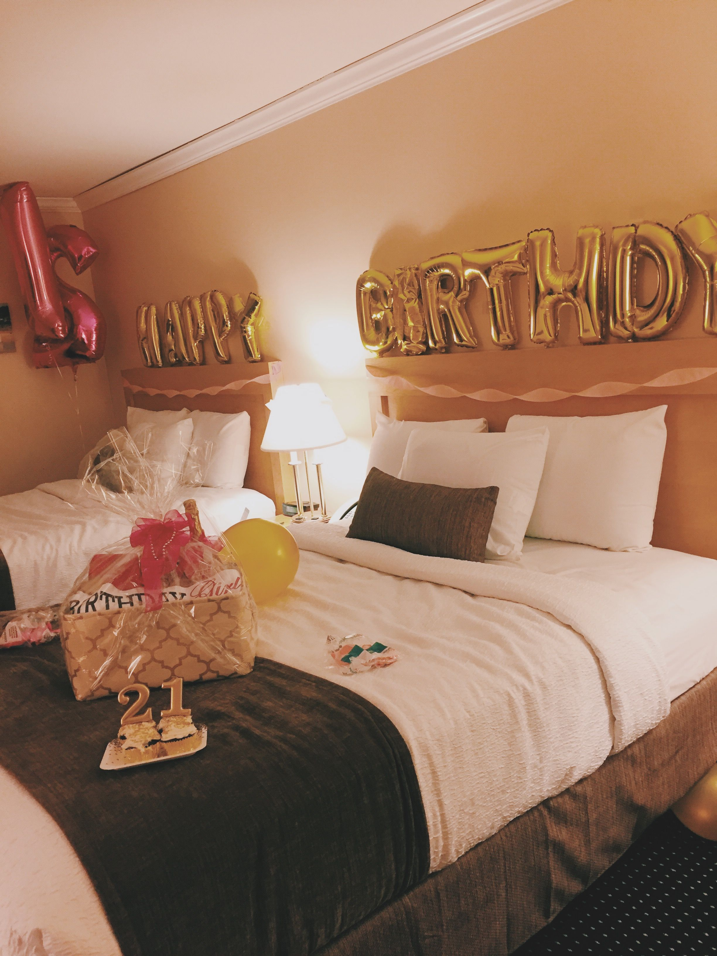 Hotel Decorations For A Birthday Hotel Party Hotel Birthday Parties Sleepover Birthday Parties