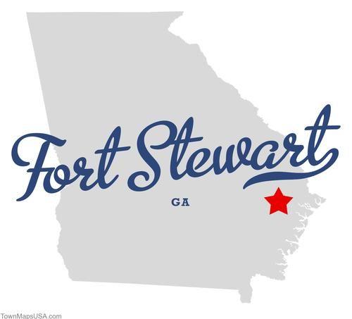 Map Of Fort Stewart Georgia Ga Fort Stewart Georgia Fort Stewart Fort