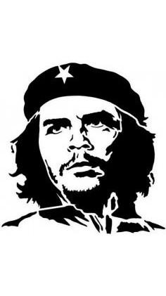 Che Guevara Silhouette Dxf File Che Guevara Art Silhouette Art Sketches