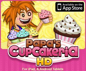 Papa Louie Arcade : Home of Free Games like Papa's Cupcakeria and Papa's  Donuteria