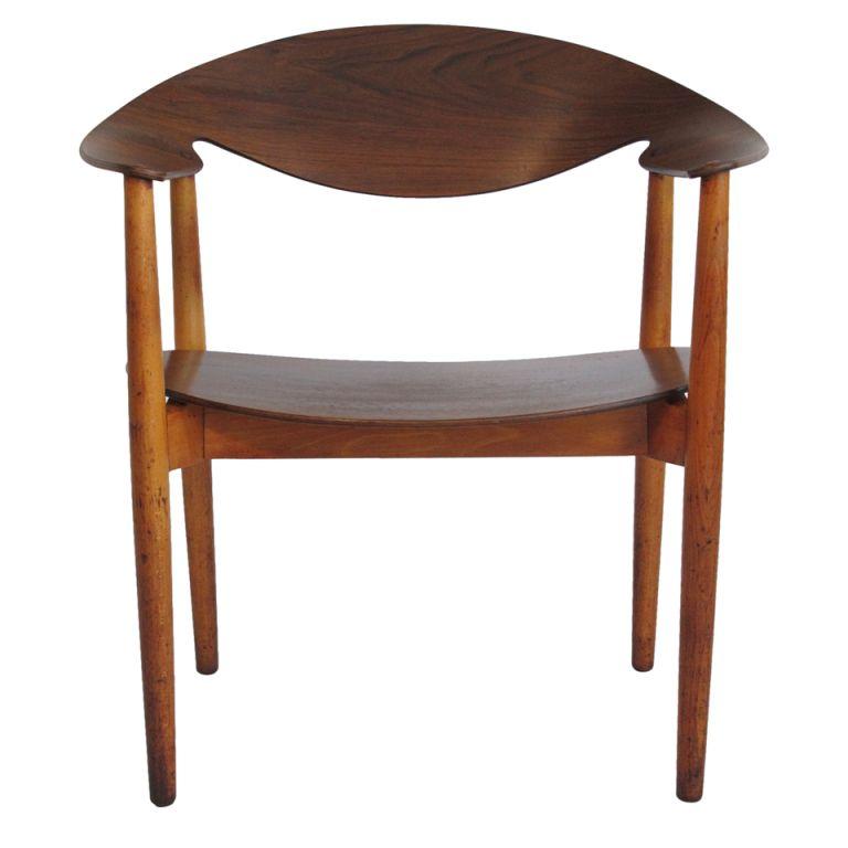 Aksel Bender Madsen Metropolitian Chair for Fritz Hansen #chair #midcentury #furniture