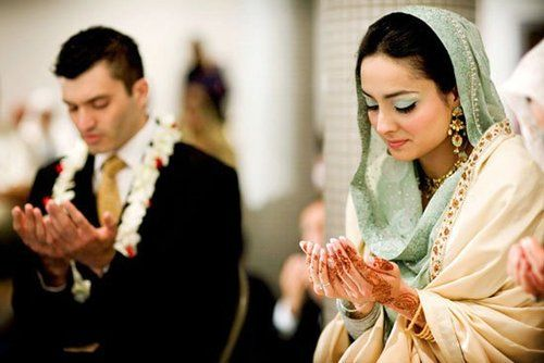 Teal cream and gold the big day pinterest muslim couples wedding junglespirit Image collections