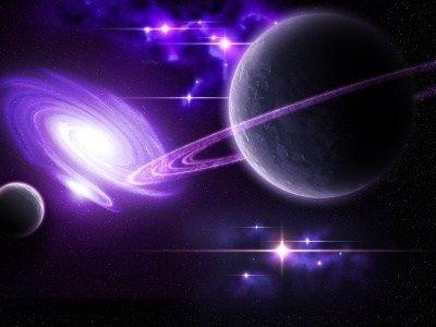 Purple Tears Page Planets Saturn Universe