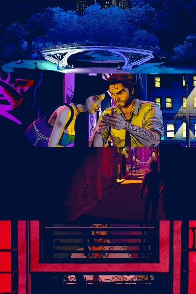 The Wolf Among Us With Colors The Wolf Among Us Neon Noir Night In The Wood