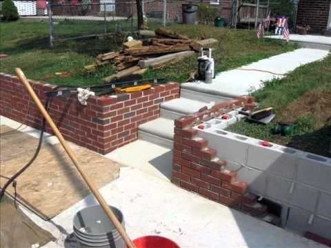Front Yard Makeover Retaining Wall Project Backyard Garden