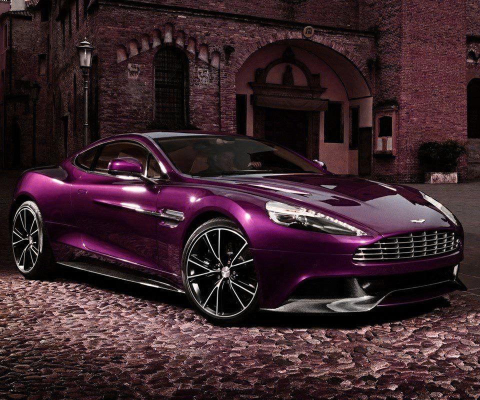 Purple Car By Danielwolf14 On Deviantart Aston Martin Vanquish Aston Martin New Aston Martin