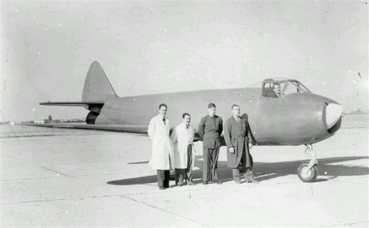 1947 I.Ae 27 Pulqui, first jet designed and built in Argentina