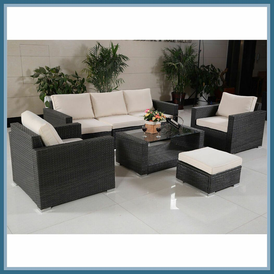 41 Reference Of Outdoor Furniture Rattan Sofa In 2020 Patio Deck Furniture Outdoor Wicker Furniture Deck Furniture