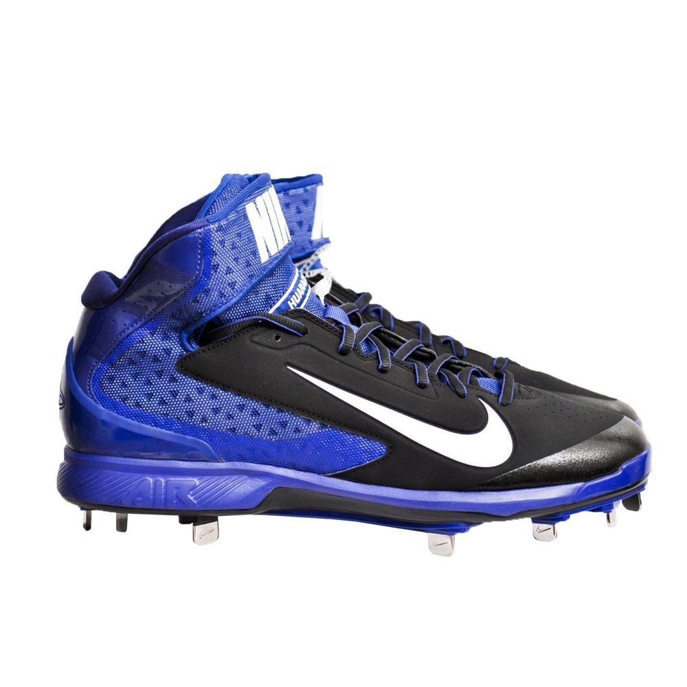 Nike Air Huarache Pro Mid Metal Men's Baseball Cleats